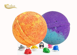 Vanilla Flavor Fizzy Kids Surprise Bath Bombs Inside Kids Party Favor